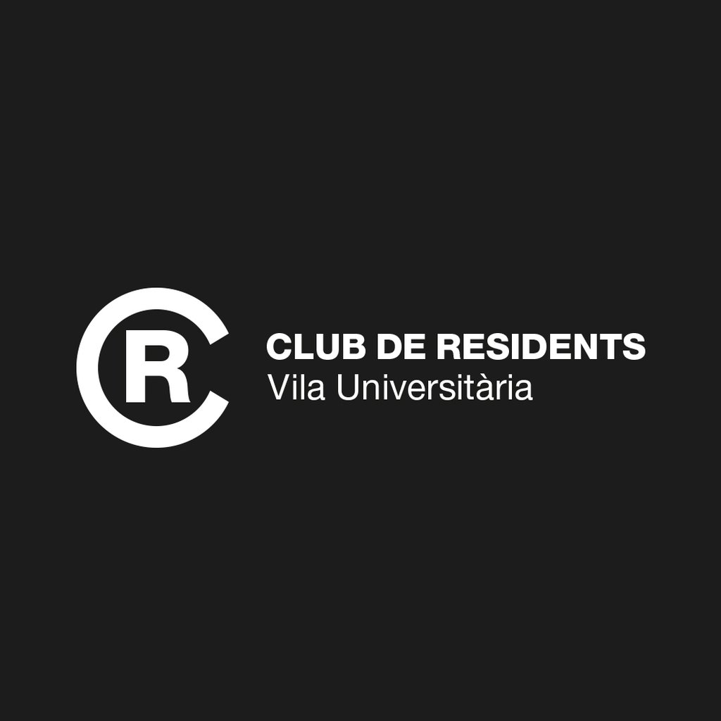 Logotip. Club de Residents - La Vila Universitària de la UAB